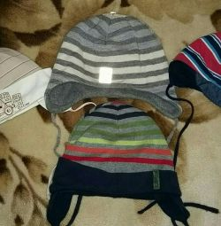 H & M hats for a boy 1-2 years