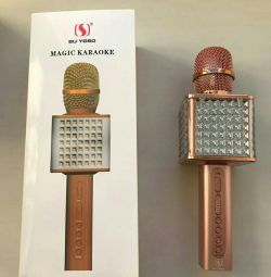 Karaoke microphone YS-86 with backlight