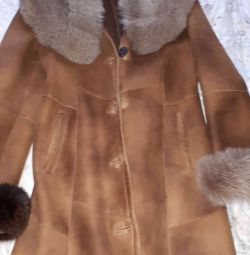 sheepskin coat 48 size