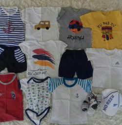 A pack of summer things for boys