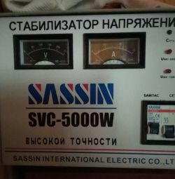 Stabilizer of voltage Sassin CVC-5000W