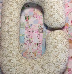 Подушка для вагітних. НОВАЯ !!! Зшита на замовлення