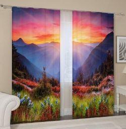 Κουρτίνες, σετ 2 τεμ. 145 x 265 εκατοστά