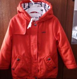 Утеплення куртка для дівчинки 4х -5 років