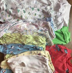 Повзунки і сорочечки