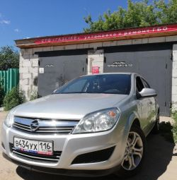 Installation of GBO 4 generations on the Opel Astra