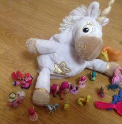 Unicorn horse toys.