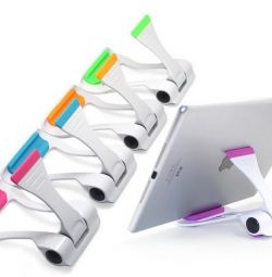 Desktop holder for tablet phone