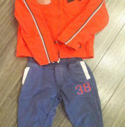 Jacket + panties