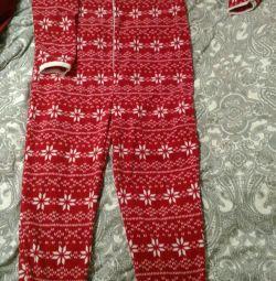 Women's fleece pajamas