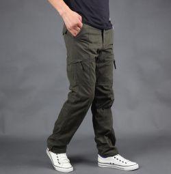 Pantaloni pentru bărbați calzi