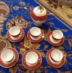 Serviciu de ceai pentru 6 persoane