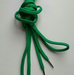 зелені шнурки