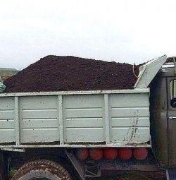 ЧЕРНОЗЕМ ЗИЛ/КаМАЗ/мешками по 50 кг.