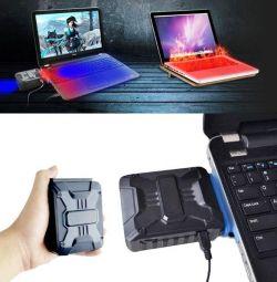 New Mini USB Laptop CPU Cooler