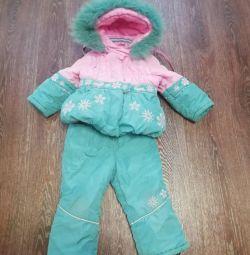 Winter suit r. 86cm