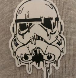 Стікер Star Wars Штурмовик в асортименті