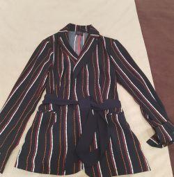 Jachetă subțire în stil ptzhamnom new mark & spenser