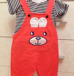 Overalls for girl