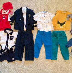 Costumes for boys of different ages