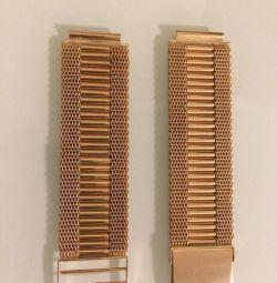 New gold bracelet