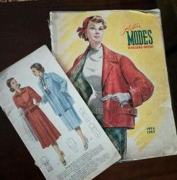 Fashion magazine 1957god