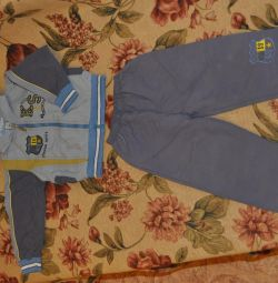 Package clothes for a boy 2-4 years