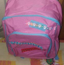 Рюкзак школьный новый производство Италия