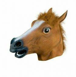 Mask of a horse's head