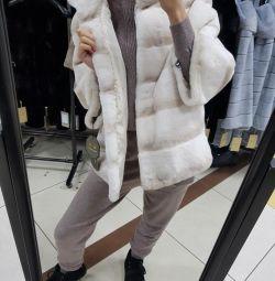 Beaver fur coat