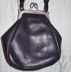 Leather reticule