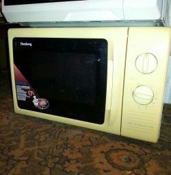 microwave marcheel. warranty