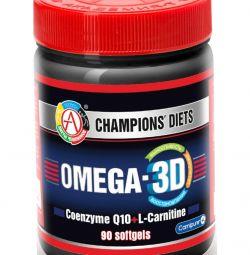 Omega-3 (Omega-3D) Academy-T 90 gel. caps.
