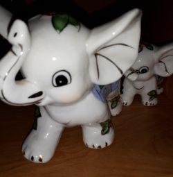 Familia de elefanți
