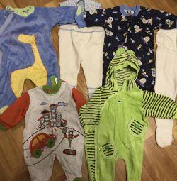 Вещи в отличном состоянии мальчику на 3-6 месяцев