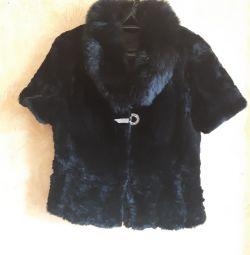 Fur coat natural fur (baber)