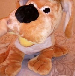 Huge toy dog