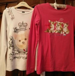 T-shirts for girl 152/158