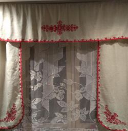 Flaxen curtains NEW