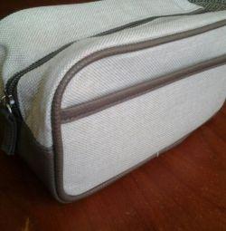 Men's cosmetic bag. New.