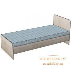 Κρεβάτι Ksenia 800 * 1900 b / m (ιταλικό καρύδι)