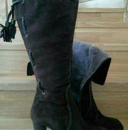 Νέες χειμερινές μπότες 40-41 μεγέθους