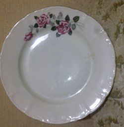 Plate - Roses