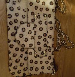 Δερμάτινο παντό παντελόνι Leopard