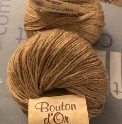 Yarn Bouton d'or Perenne