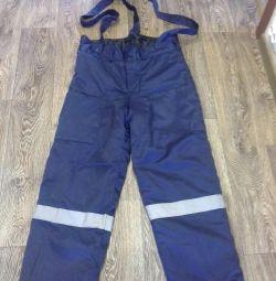 Worker warmed pants p. 50-52