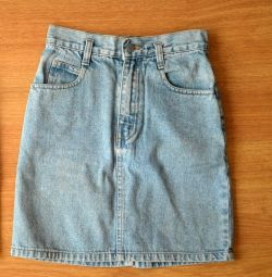 Children's jeans skirt, 134-140