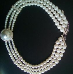 New necklace for pearls