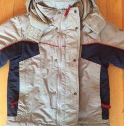 Куртка для мальчика весна/осень р. 116-122