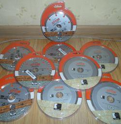 Алмазные диски(всe по 250)